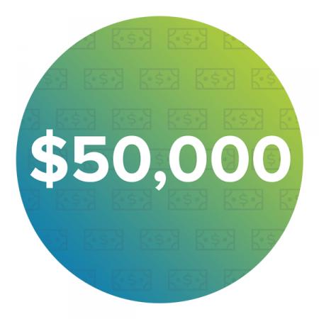 $50,000+ Average Annual Salary