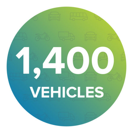 Average daily output: 1,400 vehicles.