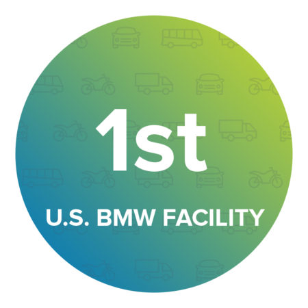 BMW's first full manufacturing facility outside German and first U.S. production facility