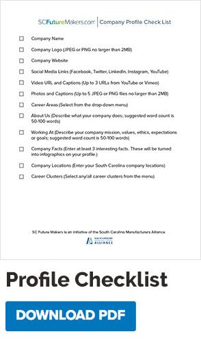 Company Profile Checklist