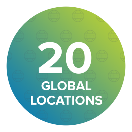 The company has 20 locations worldwide, including Japan, Thailand, India, Vietnam, China, South Korea, Czech Republic, and Mexico