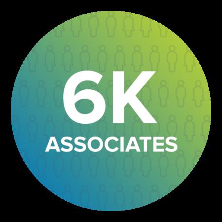 Around 6,000 employees globally, and 150 here at Fukoku America, Inc