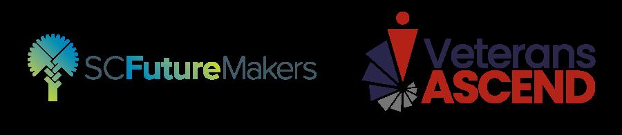 SCFutureMakers + VeteransAscend logos